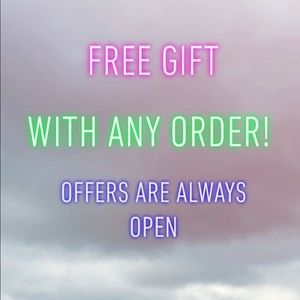 Other - Any order = free gift 🎁😍👌